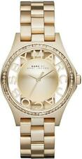 NEW AUTHENTIC MARC BY MARC JACOBS Gold Crystals Lady's Watch w BOX MBM3338 $300