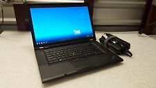 ThinkPad T530, i7,8GB,500GB ,DVD+RW,Webcam, Win 10 Office 2010 Dock