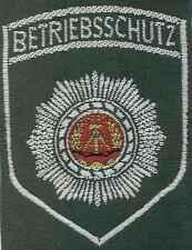 DDR Textilabzeichen Betriebsschutz für Uniformbluse