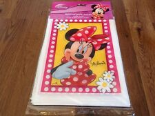 NEW DISNEY MINNIE MOUSE 25 PC BIRTHDAY CANDY LOOT PARTY BAGS FOR GOODIE TREATS