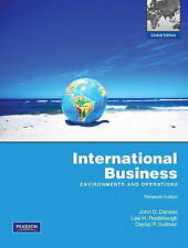 International Business: Environments and Operations: Global Edition by Lee H....