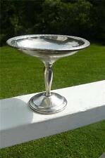 VINTAGE STERLING SILVER WEIGHTED MIDCENTURY COMPOTE AMERICAN SILVER 7 OUNCES