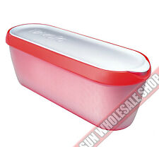 100% Genuine! TOVOLO Glide - A - Scoop Ice Cream Tub Container Rasberry Tart!