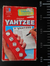 Gioco Tavolo Main Board Game Vintage Travel Yahtzee MB Milton Bradley