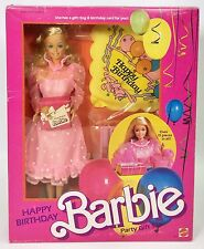 1984 HAPPY BIRTHDAY BARBIE PARTY GIFT SET #2 NRFB