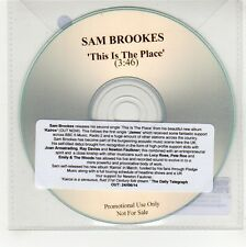 (GG348) Sam Brookes, This Is The Place - 2014 DJ CD