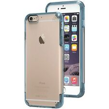 Puregear 11201VRP iPhone 6 Plus/6s Plus Slim Shell PRO Case (Clear/Blue)
