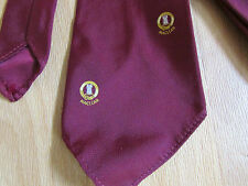 Vintage MACLEAN Logo / Crest Tie by Fred Kelly Inverness - SEE PICTURES