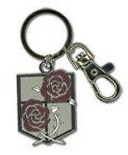 Attack on Titan Stationary Guard Metal Key Chain Anime Manga Licensed MINT