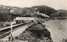 Killiney Railway Station Co Dublin old pc used Chas Cook Kingstown
