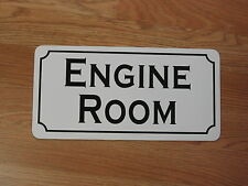ENGINE ROOM  Metal Sign 4 Retro-vintage Tin for Auto Factory Ship or Train