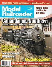 Model Railroader July 1996 Surf Sand Pennsylvania RR Sleeping Car Steam Loco