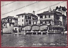 NOVARA ORTA SAN GIULIO 109 HOTEL ALBERGO - LAGO Cartolina FOTOGRAFICA