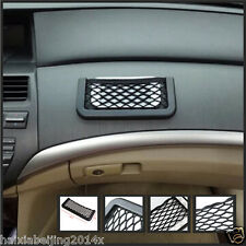 Universal Car 7.5in Storage Mesh Net Resilient String Phone Bag Holder Organize