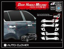 Autoclover chrome door handle molding 10P for 2016 - 2017 KIA All-New Sportage