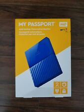 Western Digital My Passport  2TB USB 3.0 Portable External Hard Drive Black