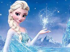 CIALDA in ostia FROZEN Elsa, 20 x 30 cm, personalizzabile, decorazione torta