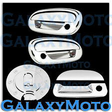 97-03 Ford F150 Triple Chrome 2 Door Handle+NO Keypad+PSG KH+Tailgate+GAS Cover
