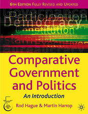 Rod Hague, Martin Harrop Comparative Government and Politics Very Good Book