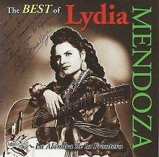 Best of Lydia Mendoza 2008 by MENDOZA,LYDIA EXLIBRARY