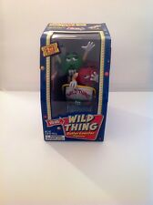 "M&M's Candy Dispenser""WILD THING ROLLER COASTER"" Limited 2nd Edition New In Box"