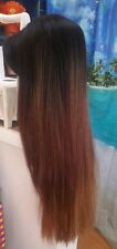 Freetress Virgo wig long  ombre straight