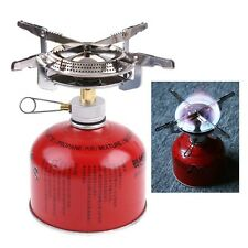 Mini Ultralight Outdoor Butane Propane Camping Stove Burner Backpacking BBQ