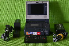 Sony GV-D1000 Mini DV VCR Player/Recorder with Remote. Works and looks great