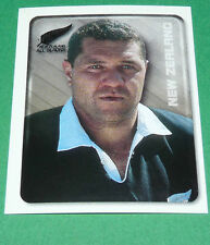 N°75 NEW ZEALAND ALL BLACKS MERLIN RUGBY IRB WORLD CUP 1999 PANINI COUPE MONDE