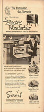 1950 Vintage ad for SERVEL Electric Wonderbar`retro 50's`hosting parties
