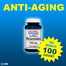 PHYTOCERAMIDES *NO WHEAT*ANTI-AGING WRINKLE CONTROL Whole Herb 100 CAPSULES