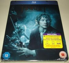 The Hobbit An Unexpected Journey Blu Ray Ultra Violet UK Exclusive Steelbook New