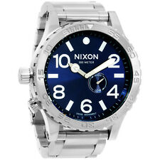 Nixon 51-30 Tide A0571258 Blue Dial Men's Stainless Steel Watch