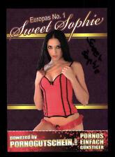 Sophie Sweet Autogrammkarte Original Signiert  ## BC 81472