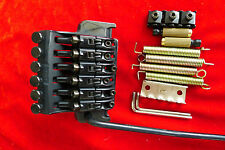 OEM Floyd Rose EDGE Ibanez Guitar Tremolo Bridge System W R43 350 Lock Nut Black