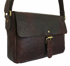 30% OFF ROWALLAN WOMEN'S DARK BROWN LEATHER SHOULDER BAG