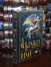 A Wrinkle in Time Trilogy by Madeline L'Engle Sealed Leatherbound Collectible