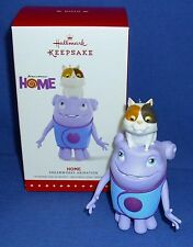 "Hallmark Ornament Dreamworks Animation Home 2015 Alien Race Boov Named ""Oh"" NIB"