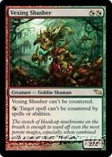 VEXING SHUSHER Shadowmoor MTG Red/Green Creature — Goblin Shaman RARE