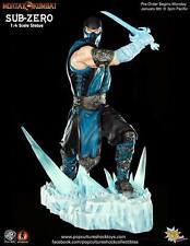 Mortal Kombat sub-zero statue Ice sword 1/4 - 43 CM pop culture shock personnage