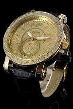 orologio bracciale pelle Jay Baxter color oro -lusso strasse - modello m0513
