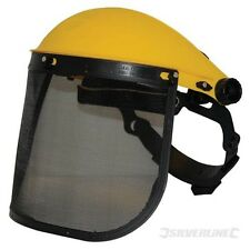 Mesh Face Shield Saftey Visor - Silverline Protection Safety Shredder Gardening
