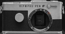 Olympus Pen F FT 35mm Film Half Frame SLR Camera Body Only - Chrome *No Meter*