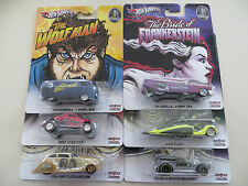 Hot Wheels  MONSTERS Pop Culture 6 car set