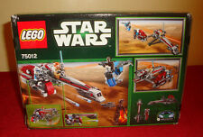 Lego Star Wars BARC Speeder with Sidecar - 226 pc - NEW! - Some box wear