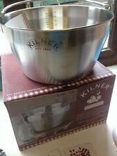 New Kilner Stainless Steel Jam Preserving Making Maslin Pan 8 Litre jam