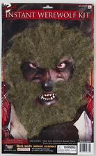Instant Werewolf Kit Facial Hair Animal Fancy Dress Halloween Costume Accessory