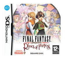 Final Fantasy Crystal Chronicles: Ring of Fates (Nintendo DS, 2008) -...