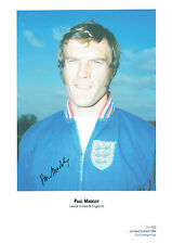 Paul MADELEY Signed Autograph Ltd Edition Print Leeds United ENGLAND AFTAL COA