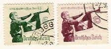 Germany 1935 - Bugler of Hitler Youth   Scott no. 463-464
